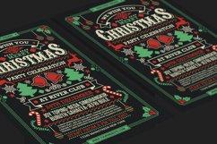 Christmas Party Celebration Flyer Product Image 4