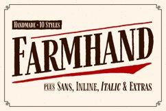 Farmhand Font Family Product Image 1