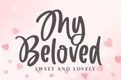 My Beloved - Cute and Lovely Font Product Image 1