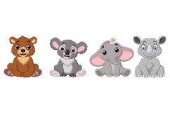 Cartoon Baby Animal Bundle Product Image 2