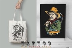 Wild West old school tattoo Product Image 2