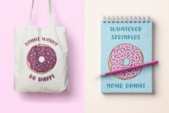 Donut Derby, a tasty caps font, Best Seller Product Image 6