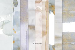 Watercolor Glittered Gray & Beige Background 5x7 Product Image 6