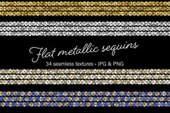 Flat Metallic Sequins Product Image 1
