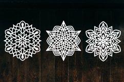 Snowflake SVG, Christmas Snowflakes, Snowflakes Laser Cut Product Image 4