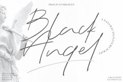 Black Angel - a Natural Signature Script Product Image 1