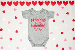 Mommy & Daddy's Little Valentine   Valentines Day SVG Bundle Product Image 6