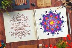 Mandala Vector Ornaments Bundle Product Image 1