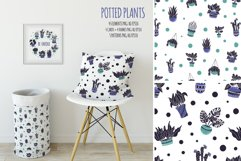 Potted Plants - Vector Collection Product Image 9