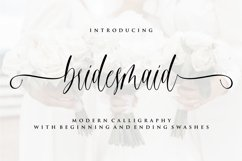 Gorgeous Calligraphy Font Bundle  Limited Time Offer!!! Product Image 11