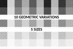 50 Seamless Square Patterns AI, EPS, JPG 5000x5000 Product Image 3