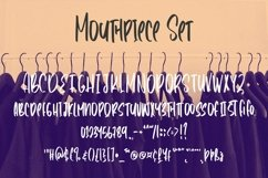 Web Font Mouthpiece - Handwritten Font Product Image 5
