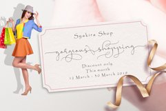 Syakira Script Product Image 4
