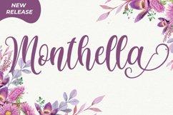 Monthella Script Product Image 1
