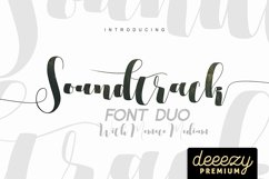 Soundtrack Font Duo Product Image 1