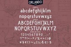 Orlando Font Product Image 2