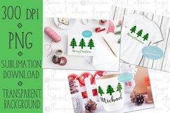 Buffalo Plaid Christmas Tree PNG, Sublimation Design Product Image 2
