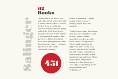 Olivia - A Curvy Typeface Product Image 3