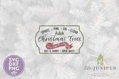 Christmas Tree Farm SVG Files, Farmhouse Christmas SVG Product Image 2