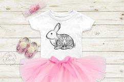 Easter Bunny Mandala Lotus Product Image 6