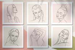 Line Art Woman Portraits Product Image 8