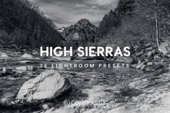 High Sierras Lightroom Presets Product Image 1