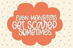 Honest Monster - A Thick Clean Font with Ligatures! Product Image 5