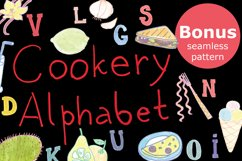 Cookery alphabet-watercolor markers Product Image 1