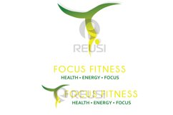 Focus Fitness Logo Template Product Image 5