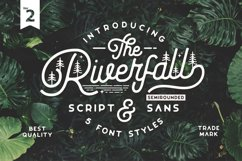 Riverfall Semi rounded Script and Sans Ver.2 Product Image 1