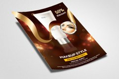Beauty Cosmetic Product Flyer Template Product Image 2