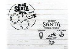 Santa Tray SVG Bundle Christmas with PNG, DXF, EPS, JPG Product Image 6
