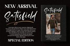 Satisfield - Signature Script Font Product Image 16