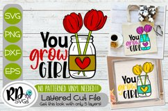 Spring Sign and Garden Flag Bundle - A Set of Layered SVGs Product Image 5