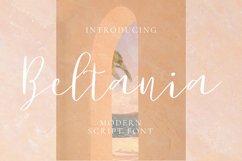 Beltania Font Product Image 1