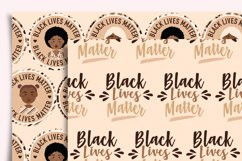 Black Lives Matter Digital Paper Seamless Product Image 3