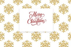 Christmas Glitter Seamless Pattens. Product Image 4