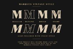 Marques Vintage Font Family Bonus Extras Product Image 3