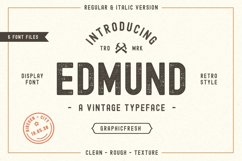 The Edmund - 6 Font Files Product Image 1