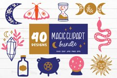 Magic Svg Bundle   Witch Svg   Witchcraft Svg Cut Files Product Image 1