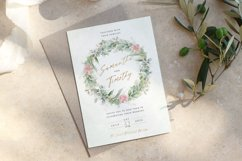 Eucalyptus Pink Floral Wedding Suite Product Image 1