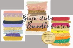 Brush strokes BUNDLE Product Image 6