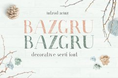 Bazgru Bazgru font Product Image 1