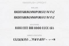 Rawbrush Font Duo Product Image 6