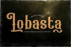 Web Font Lobasta Product Image 1
