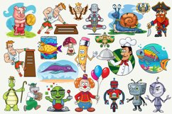 Cartoon Characters & Items Bundle Product Image 3