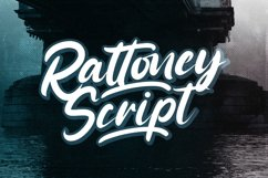 Rattoney - Bold Script Font Product Image 1