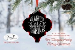 Arabesque Christmas SVG | We Wish You a Very Merry Christmas Product Image 1