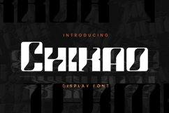 Chikao Font Product Image 1