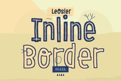 LeOsler Inline & Border Product Image 1